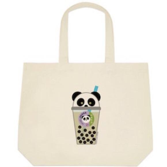 948aed82e69f bengbuPANDA 100% Cotton Canvas Big Tote Bag